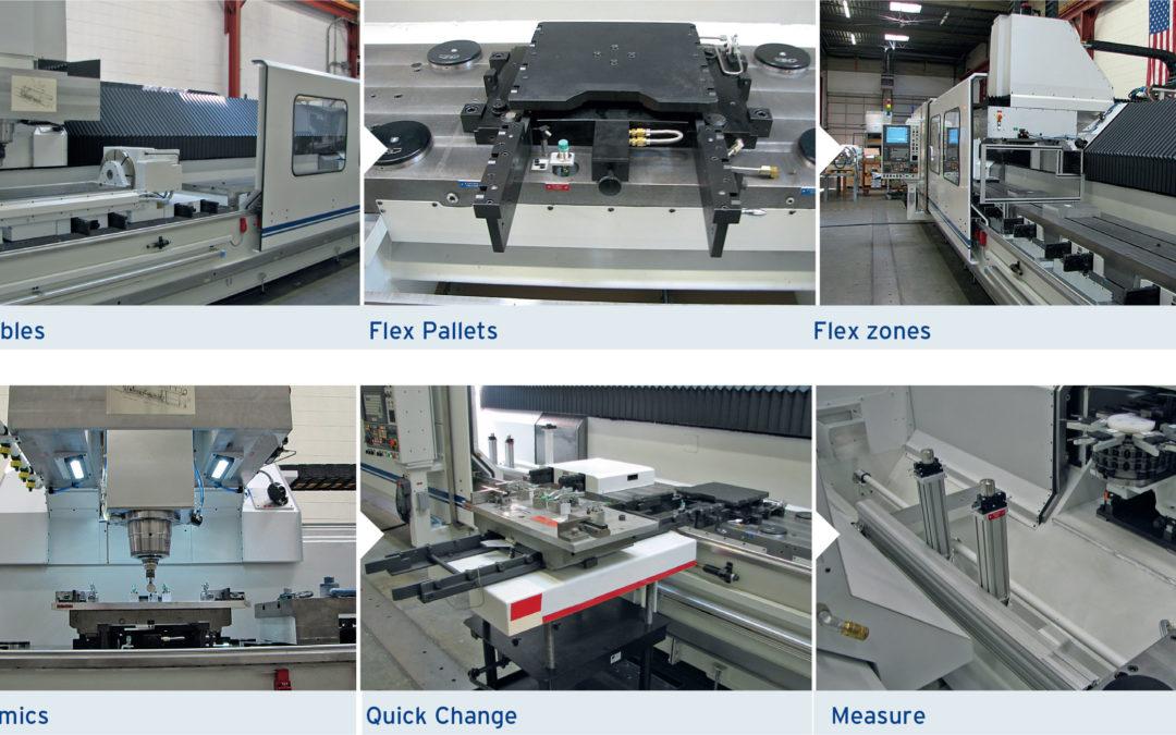 High Velocity Raised Bed CNC Machining Center
