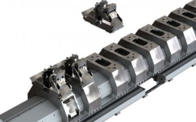 High Speed 5 Axis Bridge Machine with Smart Fixturing System